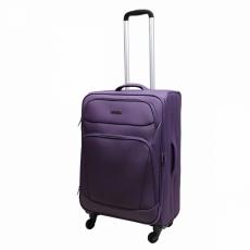 Чемодан-тележка Эдминс 362CT-24 d.purple