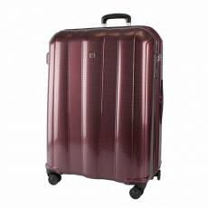 Чемодан пластиковый Echolac 091-28pc burgundy