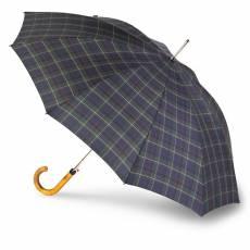 Зонт-трость Knirps мужской автомат Long Automatic CHECK BLUE & GREEN 79923518