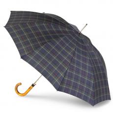 Зонт-трость Knirps мужской полуавтомат Long Automatic CHECK BLUE & GREEN 79923518