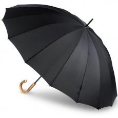 Зонт-трость Bugatti механический DOORMAN UNI BLACK 71763001BU