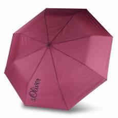 Зонт s.Oliver женский механический BASIC UNI 70863SO25-BORDO