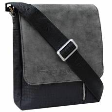 Сумка-планшет мужская Person СМ-4015-А комби Апачи серый